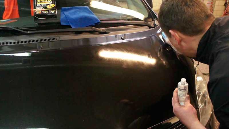Чем отполировать стекло на авто 2