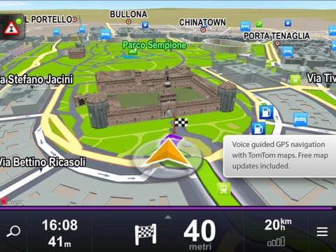 GPS навигация для iphone/ipad - Sygic Турция (русский язык)