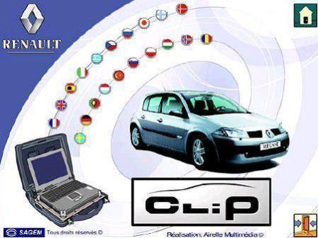 Программа диагностики Renault CLIP v.114