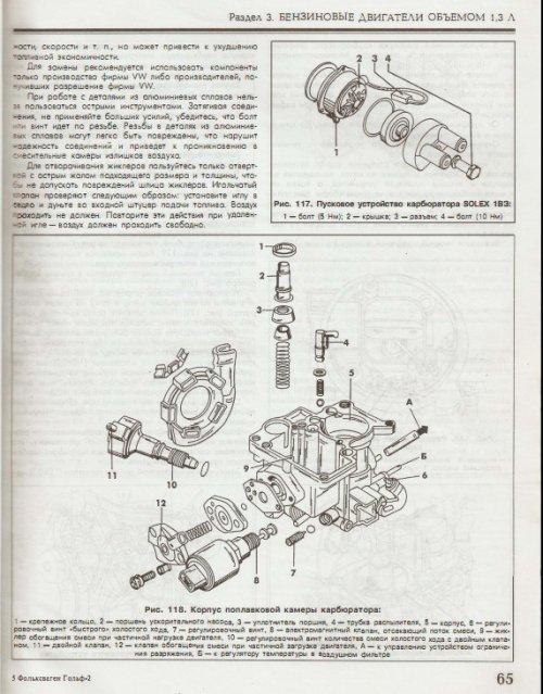 Volkswagen Golf II, ремонт и эксплуатация