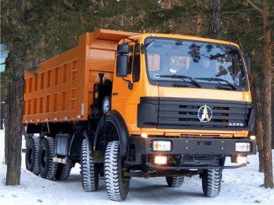 Китайские грузовики самосвалы, выбор потребителя