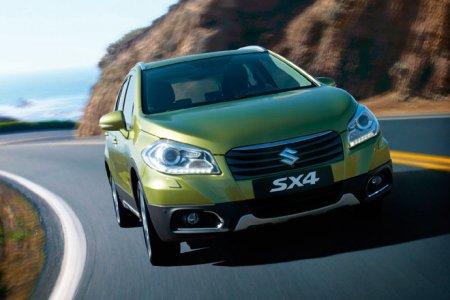 Кроссовер Suzuki SX4 теснит конкурентов