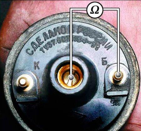 Проверка сопротивление вторичной обмотки катушки зажигания