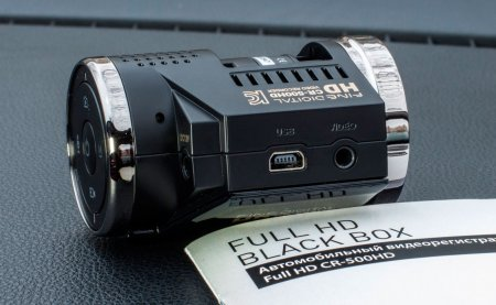 FineVu CR-500HD вид справа