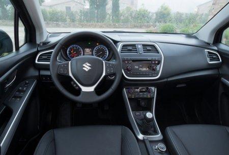 Suzuki New SX4 панель приборов