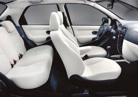 Fiat Albea салон автомобиля