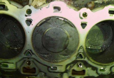Последствия детонации двигателя