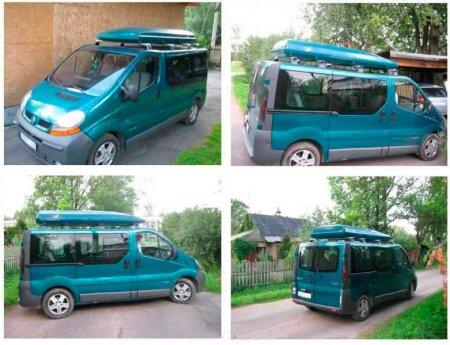 Автомобильные боксы для микроавтобусов