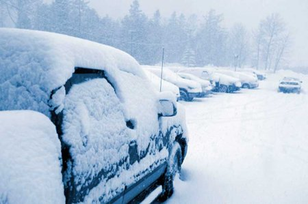 Особенности запуска двигателя зимой