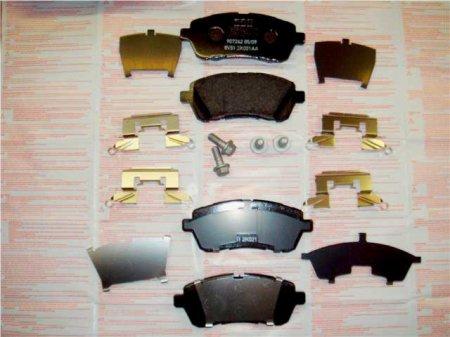 Комплект тормозных колодок Форд Фиеста