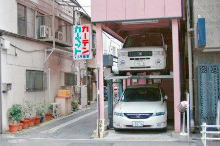 Парковка в Токио