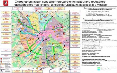 Схема парковок Москвы