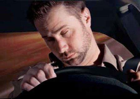 Усталый водитель