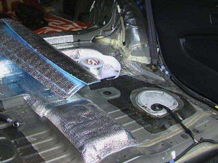 Теплоизоляция автомобиля своими руками