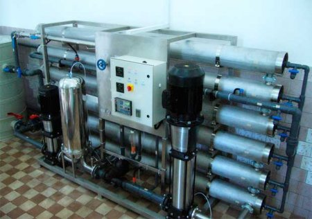 Аппараты для техочистки воды