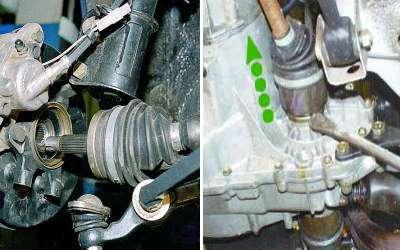Как заменить пыльник наружного ШРУСа на автомобилях ВАЗ