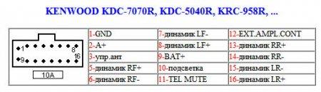 KDC-7070R, KDC-5040R, KRC-958R