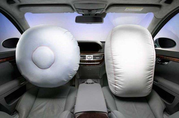 Передние подушки безопасности