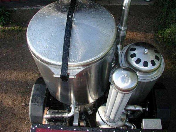 Вариант двигателя на дровах