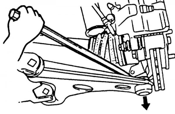 Проверка монтировкой состояние шаровой опоры
