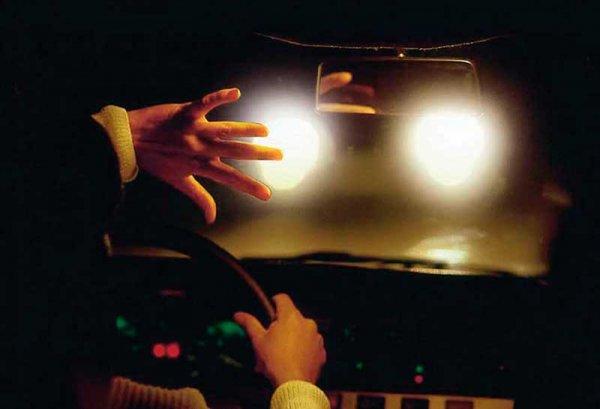 Ослепление водителя