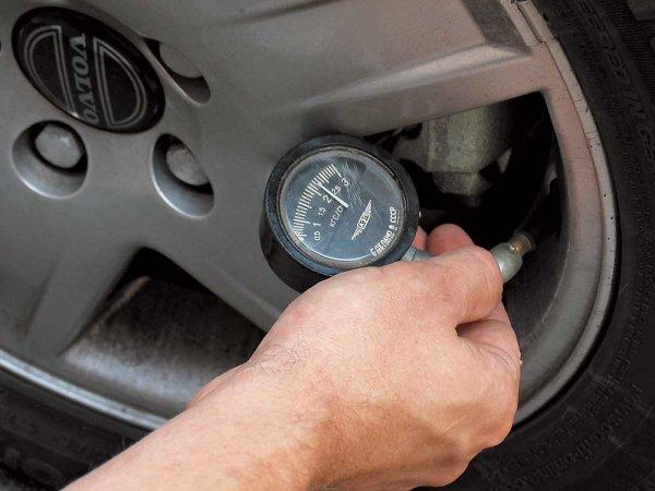 Все про давление в шинах автомобиля