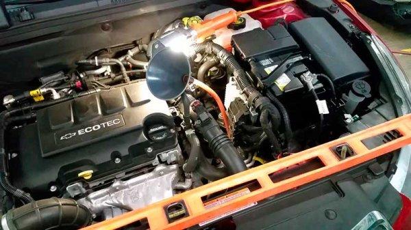 Замена масла в Chevrolet Cruze 1.6