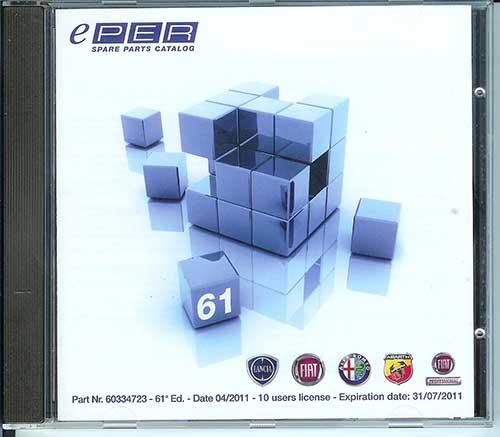 Fiat ePER 6.0.0 каталог запчастей Фиат, Лянча, Альфа ромео