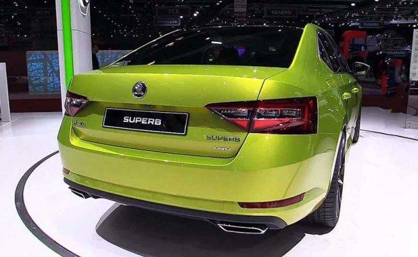Российские продажи спортивной модификации Skoda Superb стартовали