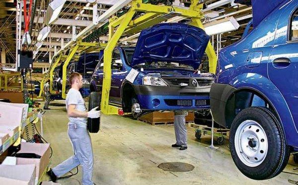 Страна производитель автомобилей Рено, заводы в России