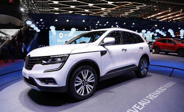 Новый Renault KOLEOS 2017 года в деталях