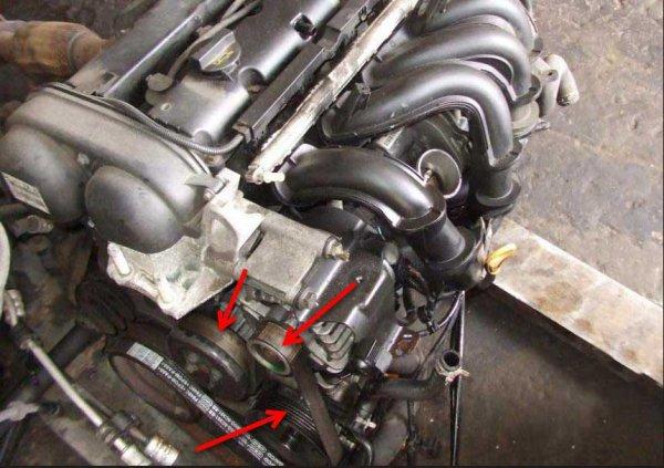 Замена ремня генератора Форд Фокус 2 1.6, 1.8, 2.0