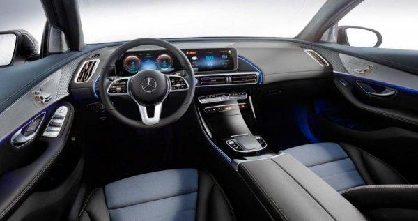 Mercedes-Benz EQC 2019: обзор первого электрического кроссовера бренда