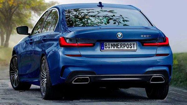 Рассекречен рублевый ценник на новый BMW 3-Series 2019 года