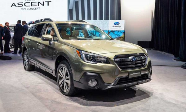 Самые популярные модели автомобилей Subaru в России