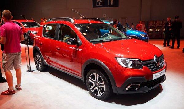 Renault назвал рублевые цены на кросс-версии Logan и Sandero