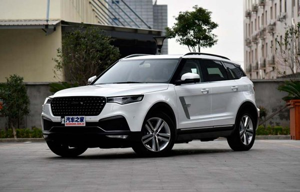 Zotye привезет в РФ флагманский T700 в стиле Land Rover