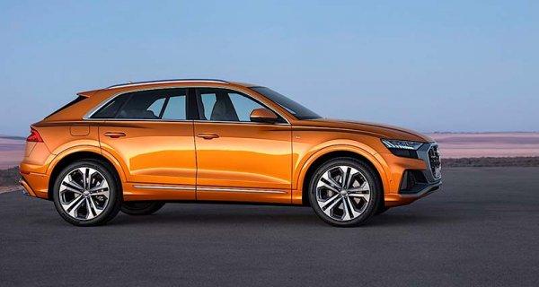 Новое кросс-купе Audi Q8 доступно для заказа в России