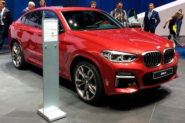 В России началось производство нового BMW X4