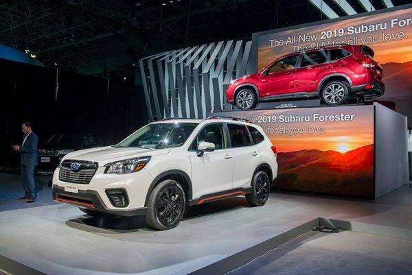 В России стартовали продажи Subaru Forester V поколения