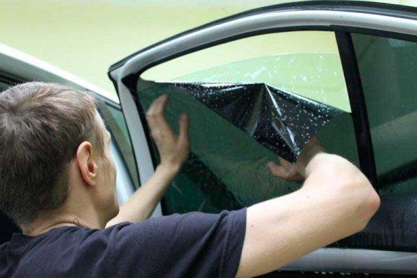 Тонируем стекло автомобиля – пошаговая инструкция