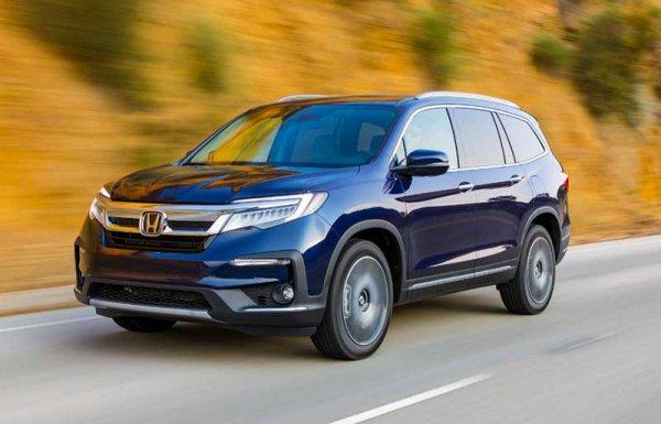 Honda Pilot 2019 поступила в продажу в России