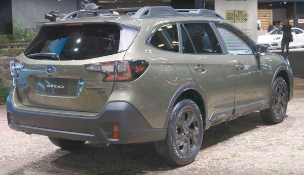 Новый Subaru Outback 7 поколения представлен в Нью Йорке