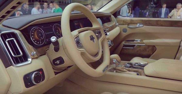 Аурус Сенат седан – премиальный автомобиль российского производства