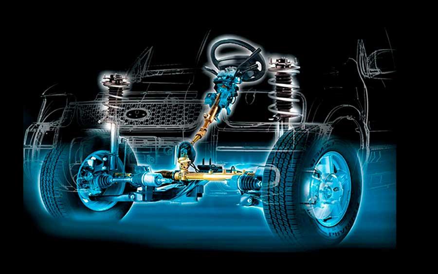 Система рулевого управления в автомобиле - устройство, принципы работы, диагностика