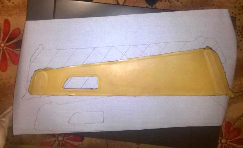 Перетяжка дверной карты своими руками из натуральной кожи и заменителя