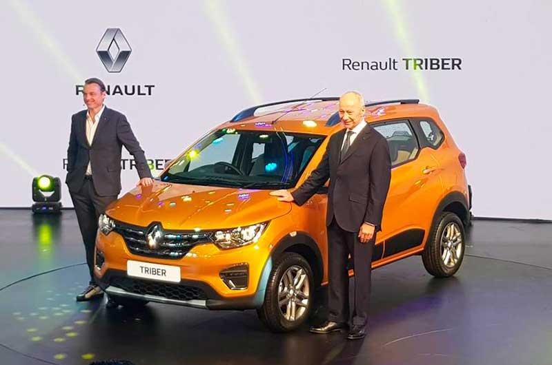 Renault Triber – самый дешевый кроссовер на 7 мест