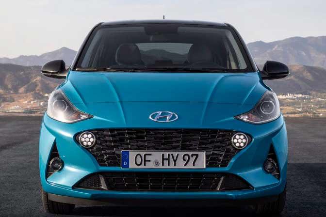 Hyundai представил новый хэтчбек i10 3 поколения