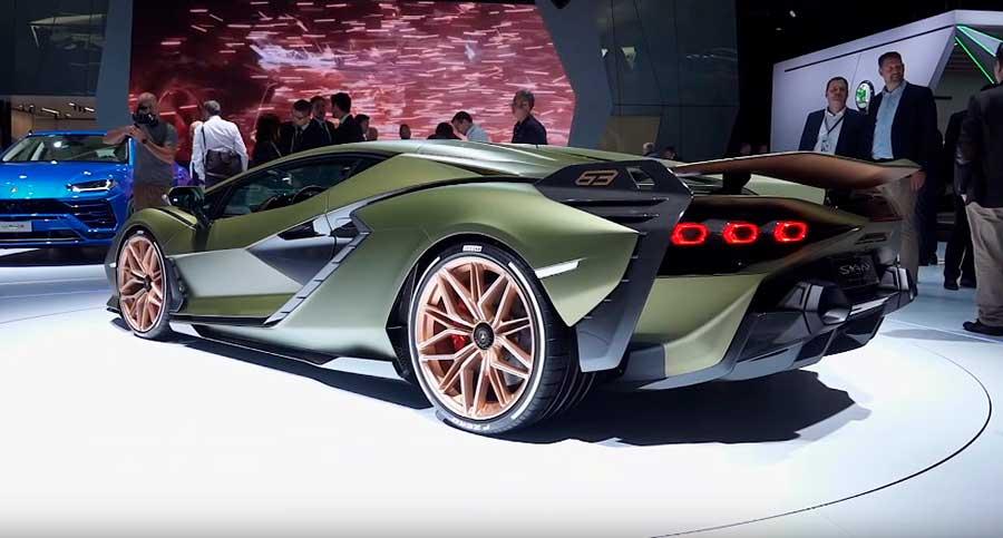 Lamborghini Sian FKP 37 – первый взгляд на гибридный суперкар