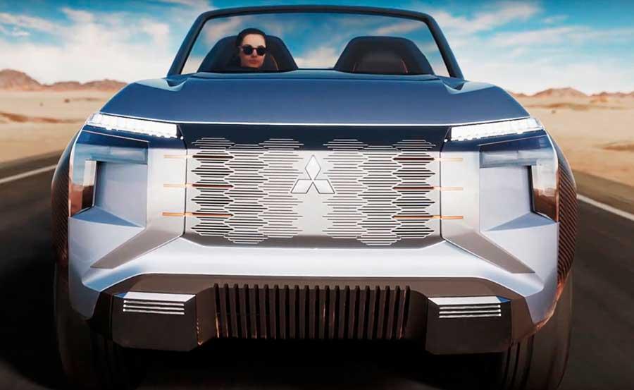 Mitsubishi представил новинки: концепт Mi-Tech и Кей-кар K-Wagon